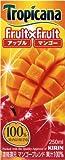 キリン トロピカーナ フルーツ×フルーツ マンゴーブレンド 250ml×24本