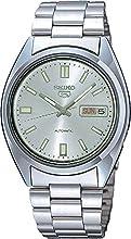 Comprar Seiko SNXS73 - Reloj analógico de caballero automático con correa de acero inoxidable plateada - sumergible a 30 metros