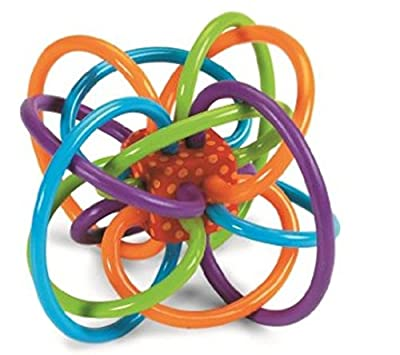 Manhattan Toy Winkel Rattle and Sensory Teether Activity Toy by Manhattan Toy