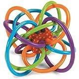 Manhattan Toy Winkel Rattle and Sensory Teether Activity Toy (2pk)