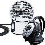 Samson Meteorite USB Kondensator-Mikrofon + KEEPDRUM Kopfhörer GRATIS!