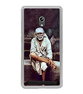 Sai Baba 2D Hard Polycarbonate Designer Back Case Cover for Asus Zenfone 6 A600CG