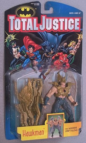 Total Justice Hawkman Action Figure