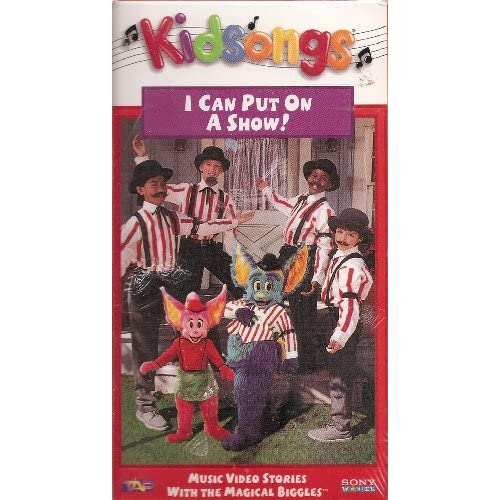 Amazon.com: Kidsongs: I Can Put On A Show! Musical Video Stories With