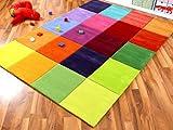 Lifestyle Kinderteppich Happy Bunt in 5 Größen !!! Sofort Lieferbar