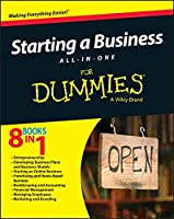 Starting a Business All-In-One For Dummies Front Cover