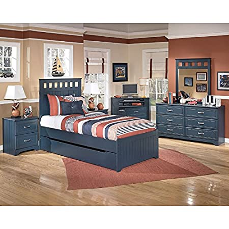 Leo Panel Bedroom Set w/ Trundle Twin
