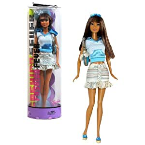 Mattel Year 2005 Barbie Fashion Fever Series 12 Inch Doll Kayla With Sleeveless