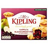 Mr Kipling Apple & Blackcurrant Pies 6x6 per pack