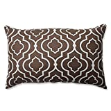 Pillow Perfect Donetta Rectangular Throw Pillow, Chocolate