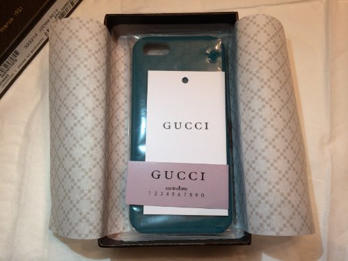 Best Price Gucci GG iPhone 5, 5s Bio-plastic Cover case Green Brand New in box! (Green)
