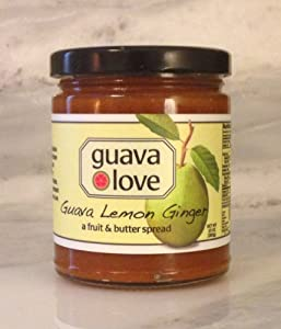 Guava Lemon Ginger Spread - a fruit & butter spread