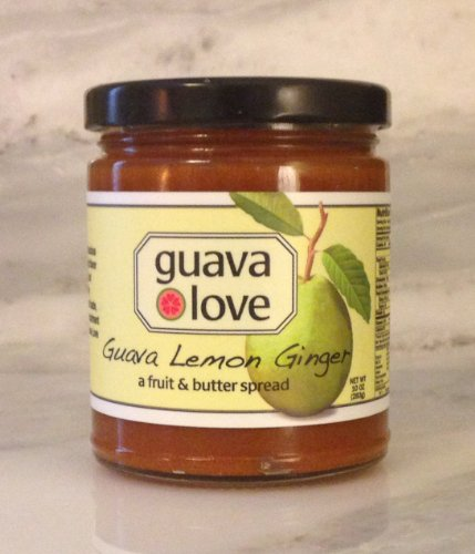 Guava Lemon Ginger Spread - a fruit & butter