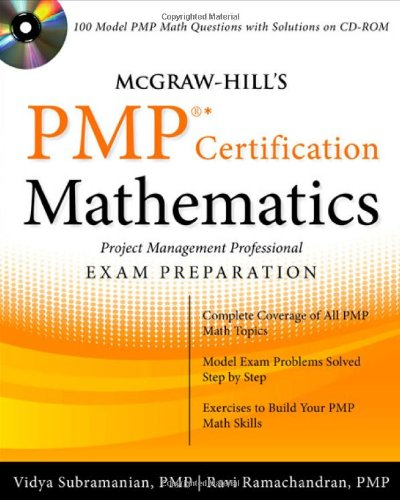 McGraw-Hill's PMP Certification Mathematics with CD-ROM