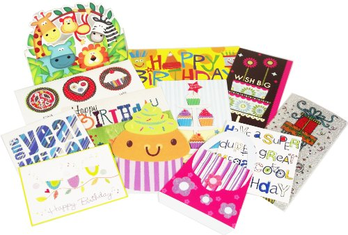 All Occasion Greeting Card Assortment with Decorative Reusab
