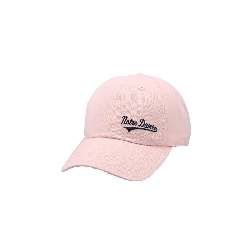 Adidas Notre Dame Fighting Irish Pink Ladies School Script Hat
