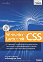 Webseiten-Layout mit CSS Front Cover