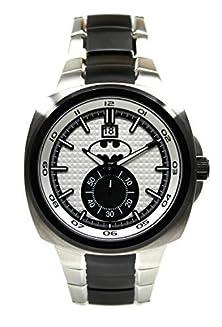 buy Batman 75Th Year Limited Edition Silver-Toned Mens Watch (Bat8057)