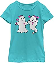 Lost Gods Halloween Fashion Forward Ghosts Girls Graphic T Shirt - Lost Gods