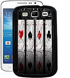 ColourCraft Metal Cards Design Back Case Cover for SAMSUNG GALAXY S3 NEO I9300I