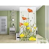 Paravent rideau Wildflowers, Dimension:250cm x 120cm
