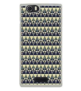 Colourful Pattern 2D Hard Polycarbonate Designer Back Case Cover for Micromax Canvas Nitro 2 E311