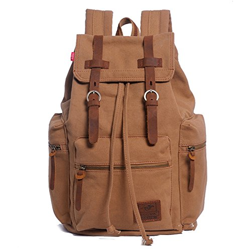 sechunk-unisex-canvas-leather-backpack-yellow