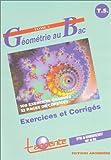 echange, troc Tangente - Géométrie au bac, tome 2 : Exercices et Corrigés