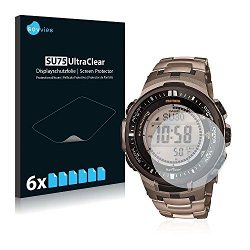 6x-pellicola-protettiva-per-casio-protrek-prw-3000t-7jf-mens-watch-protezione-proteggi-schermo-trasp