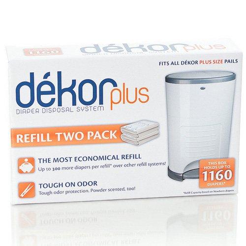 Diaper Dekor Plus Refill - 3 Pk