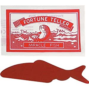 """""""Fortune Teller Fish Novelty Toy/Party Bag Fillers, pack of 6"""""""