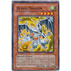 YuGiOh 5D's Duelist Pack Yusei 2 Single Card Debris Dragon DP09-EN004 Common