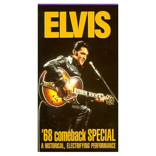 68 Comeback NBC TV Special [VHS] Elvis Presley Movies