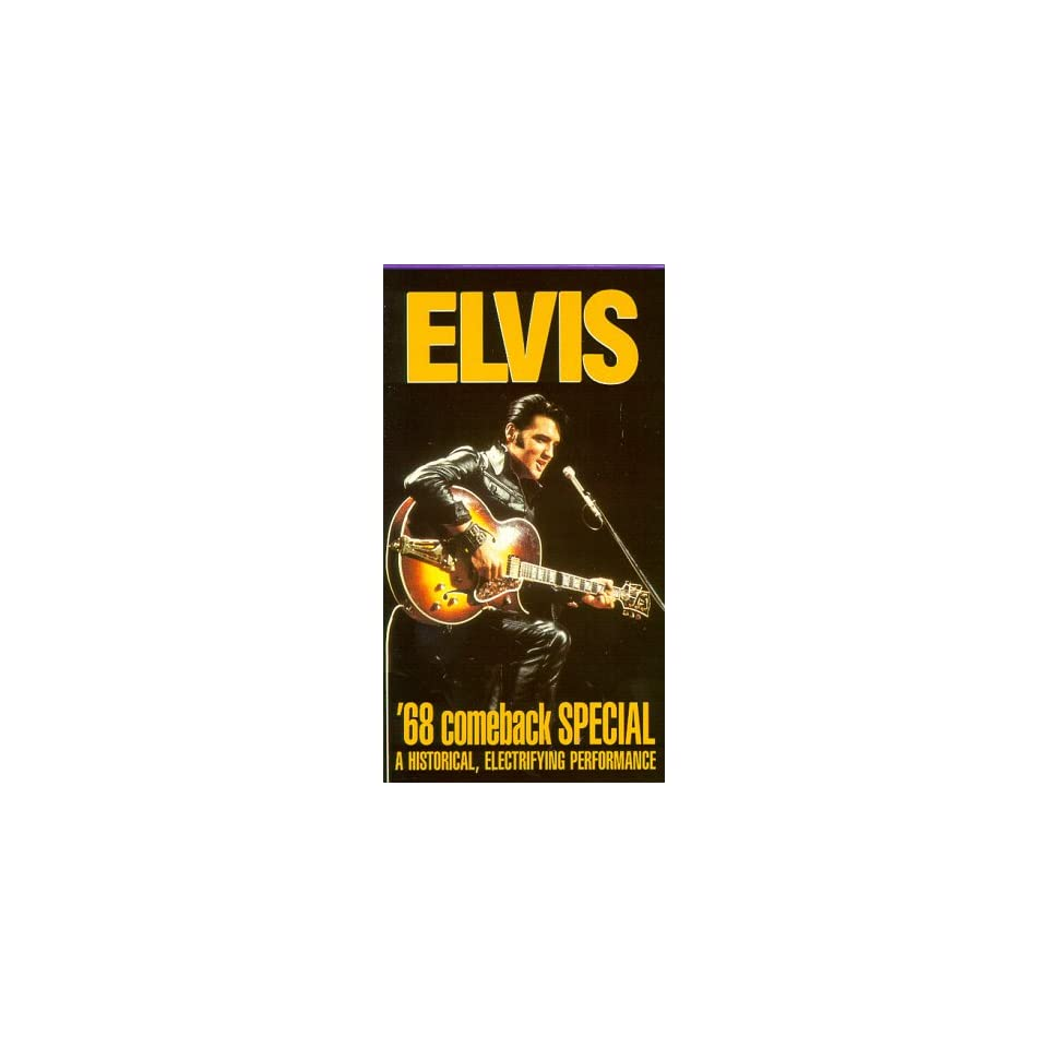 68 Comeback: NBC TV Special [VHS]: Elvis Presley: Movies