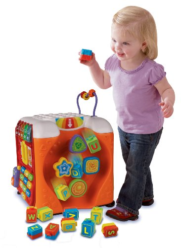 VTech Alphabet Activity Cube (Building Block Baby Walker compare prices)