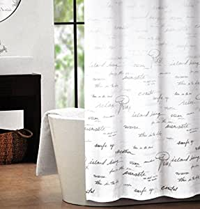 Shower Curtains With Writing Shower Curtains with Bible Vers