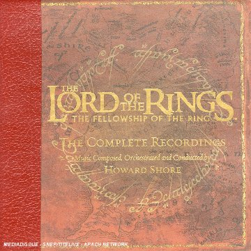 Enya - The Lord of the Rings: The Fellowship of the Ring (Complete Recording) [Includes DVD Audio] - Zortam Music