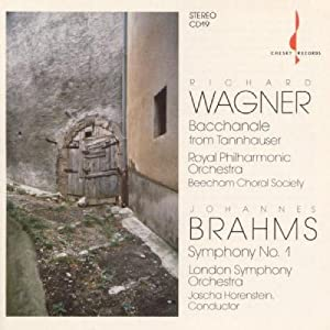 Brahms: Symphony 1 / Wagner: Tannhauser Selections