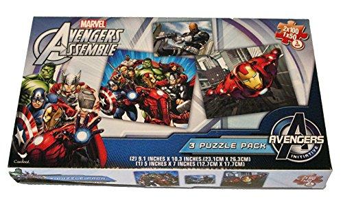 Marvel Avengers Assemble 3 Puzzle Pack - 1