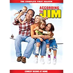 "ENTER TO WIN A COPY OF ""ACCORDING TO JIM: THE COMPLETE FIRST SEASON"" from LIONS GATE 1"