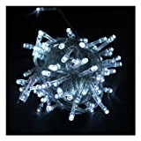 10M White Led String Light for Christmas Party Room Garden Home Decoration (Can Be Connected to 100M String Light)