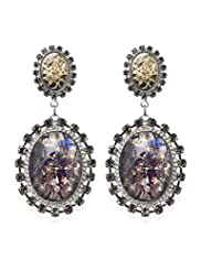 Diamanté Baroque Drop Earrings