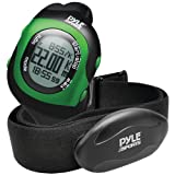 "Pyle-Sport Bluetooth(R) Fitness Heart Rate Monitoring Watch With Wireless Data Transmission & Sensor (Green) ""Product Category: Exercise Accessories/Heart Rate Monitors"""