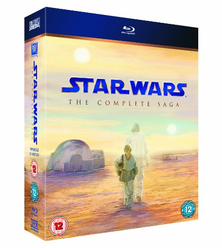 Star Wars: The Complete Saga (Episodes I-VI)  [Blu-ray] [1977]