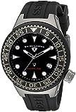 Swiss Legend Unisex 11044D-GM-01-NB Neptune Analog Display Swiss Quartz Black Watch