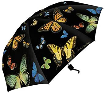 Harold Feinstein Collapsible Summer Butterflies Umbrella