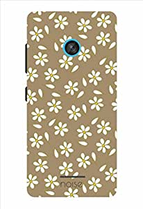 Noise Brown Jasmine Printed Cover for Nokia Lumia 435