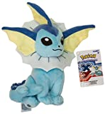 "Vaporeon ~9.5"" Mini-Plush: Pokemon Evolution of Eevee Series"