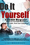 51KTO6YCbvL. SL160  DIY Credit Repair For FREE   Knock Out Your Debts and Enhance Your Credit From Your Living Room
