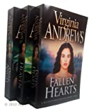 Virginia Andrews Casteel Family Series Books 1, 2, 3 : Heaven / Dark Angel / Fallen Hearts rrp £20.97